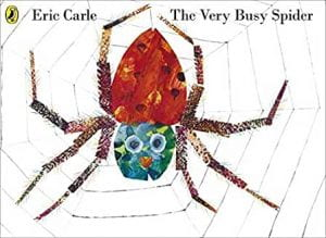 Carle - Very busy spider
