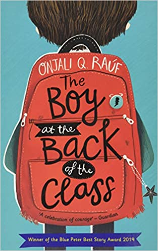 Boy at the back of the class, front cover