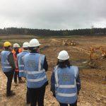 Clay's Lake Dam site visit