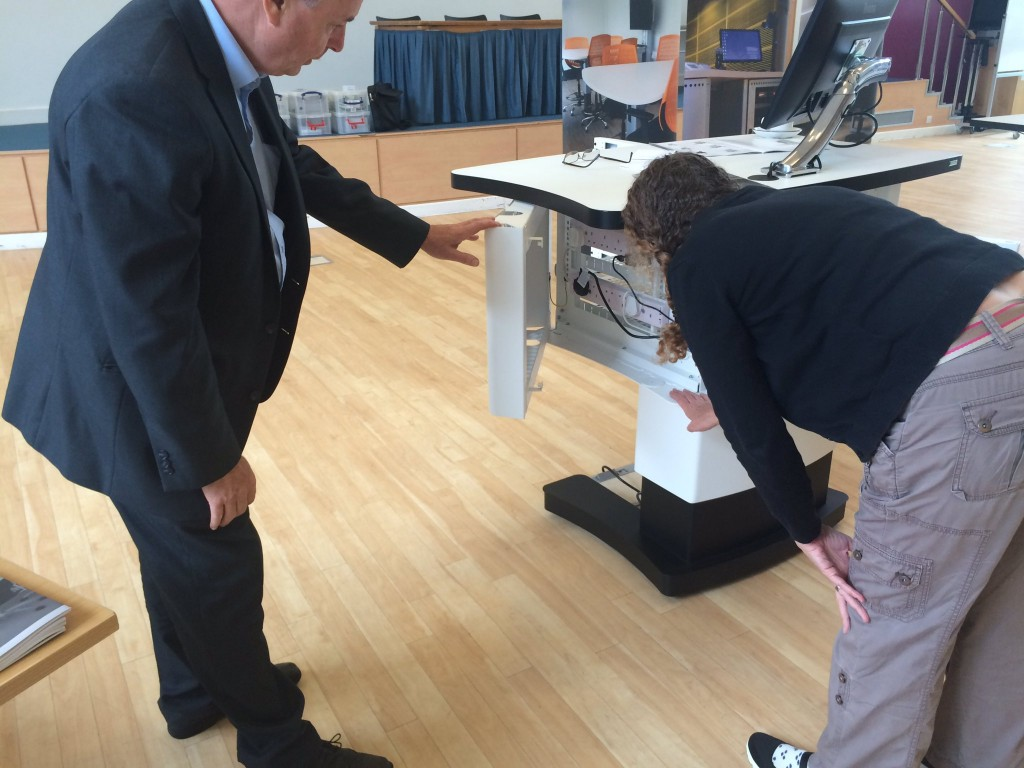 Looking at lecterns