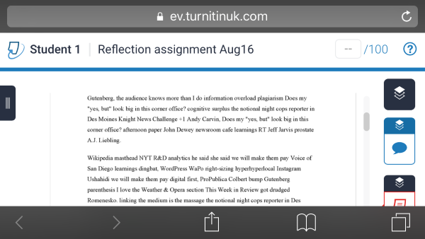 Turnitinuk originality report