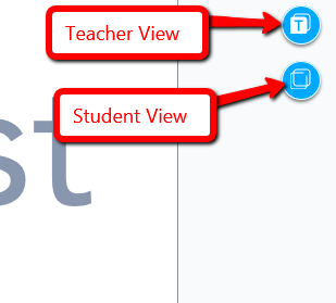teach and student views