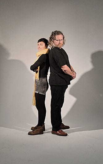 Dr Patricia Kolaiti and Dr Tim Wharton