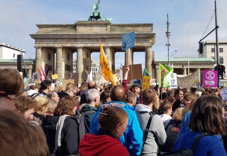 Fridays for Future Global Climate Strike in Berlin (source: Bohn&Viljoen 2019)