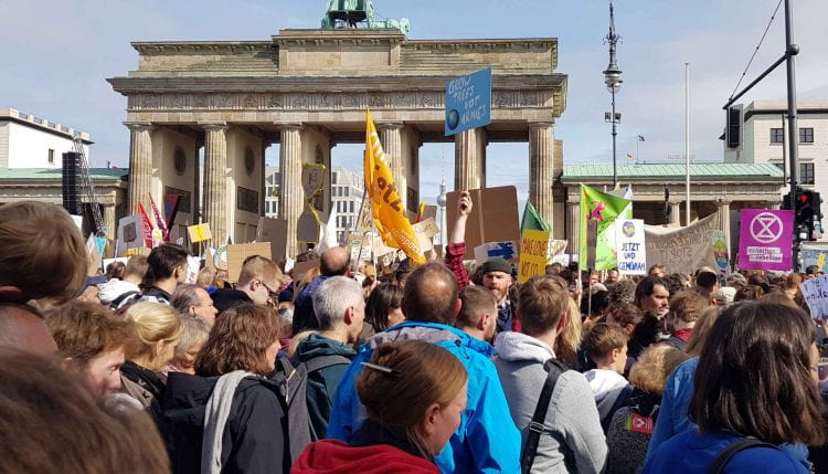 Fridays for Future Global Climate Strike in Berlin (source: Bohn&Viljoen 2019)