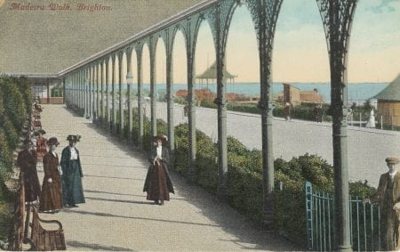 Madeira Terrace in historic pictures (source: Brighton Museums www 2019)