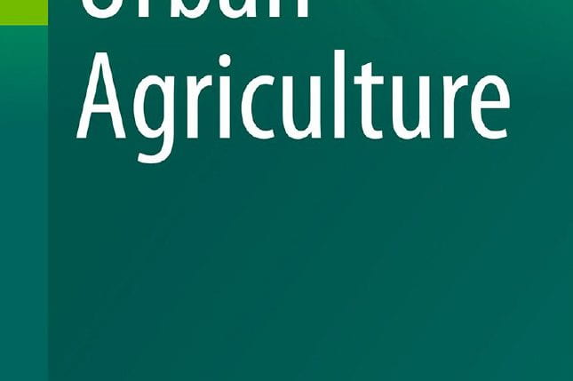 Extract of the book cover of the Urban Agriculture Book Series at Springer (source: Springer www 2019)