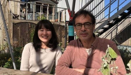 Academic visitor Akane Bessho, University of Tokyo, and Prof. André Viljoen, University of Brighton (source: Dong Chu 2019)