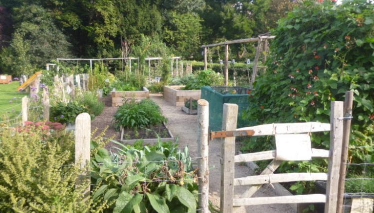 Preston Park Demo Garden, one of the visited projects and Brighton & Hove Food Partnership's first spatial intervention in Brighton. (source: Brighton & Hove Food Partnership www 2019)