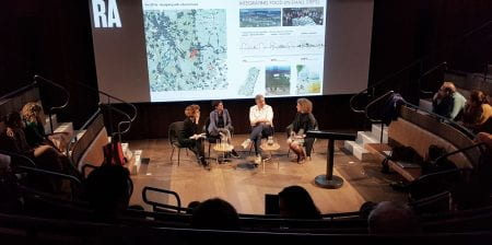 The panel discussion is part of the exhibition Eco-Visionaries which is on show at the Royal Academy of Arts from 23th November 2019 until 23th February 2020. (source: Bohn&Viljoen 2020)