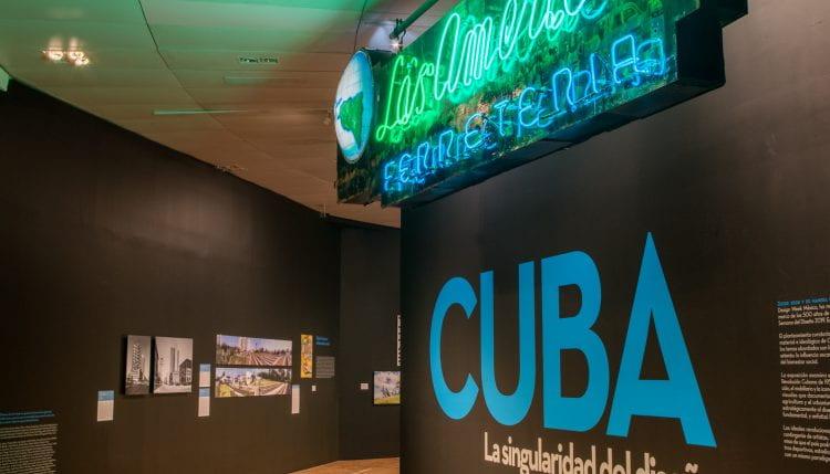 View of Bohn&Viljoen's exhibit at Cuba. La singularidad del diseño (source: Jimena Acosta 2019)