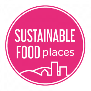 Logo of Sustainable Food Places