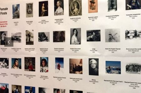 Female Firsts, one of three exhibitions accompanying the symposium (source: aia brighton www 2019)