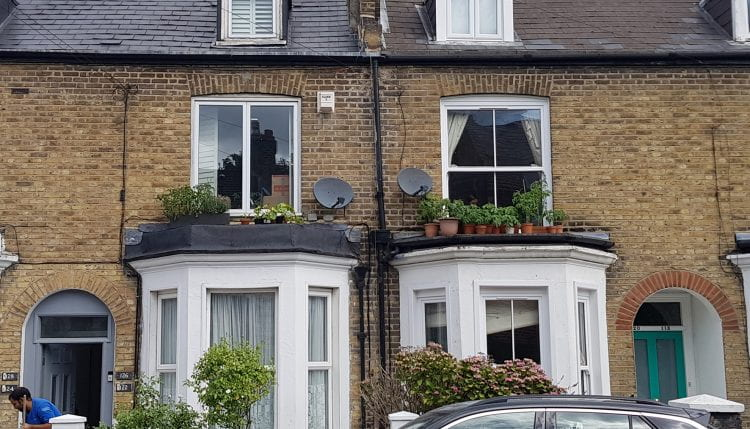 "A ""Covid-19 lockdown"" micro rooftop farm in Southwark, South London (source: Bohn&Viljoen 2020)"