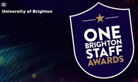 Nearly 200 colleagues were nominated for this year's One Staff Brighton Awards. (source: University of Brighton 2021)