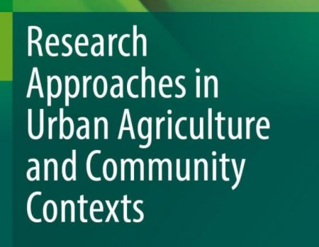 Cover extract of one of the new titles in the Urban Agriculture Book Series (source: Springer www 2021)