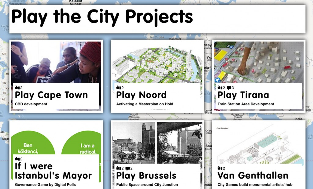 Projects of Play the City.nl |http://www.playthecity.nl/17141/en/play-the-city-projects