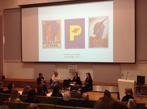 V&A Poster Conference, University of Brighton Design Archives, Sirpa Kutilainen
