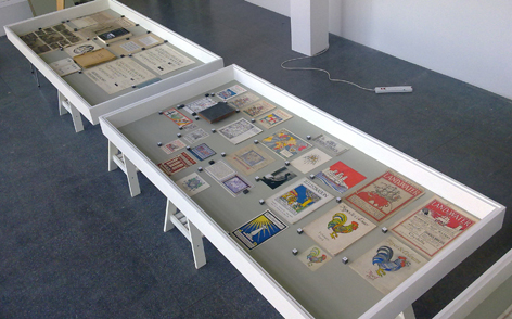 Max Gill exhibition, Grand Parade Gallery, University of Brighton Design Archives, Sirpa Kutilainen