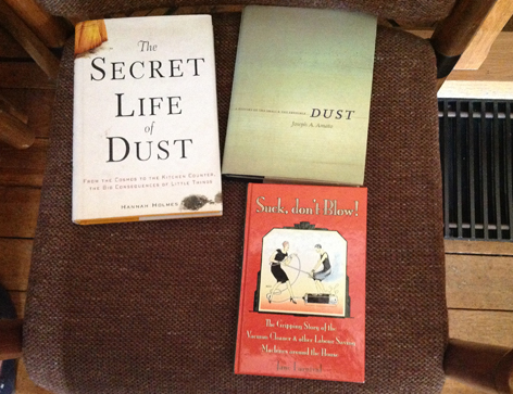 Books on dust