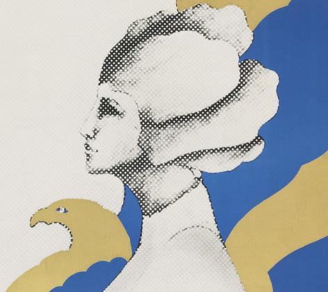 Icograda poster (detail), University of Brighton Design Archives, Sirpa Kutilainen