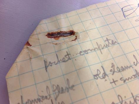 Rust, conservation, University of Brighton Design Archives, Sirpa Kutilainen