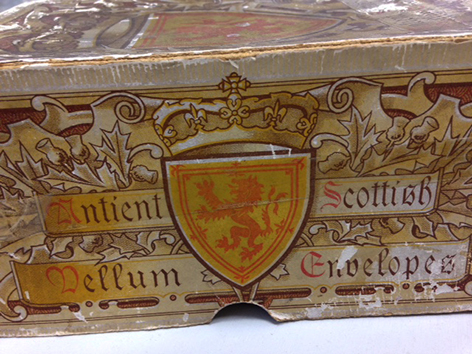 Scottish vellum envelopes 1