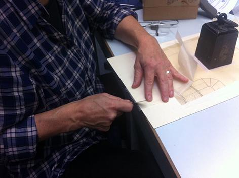 preparing repair materials