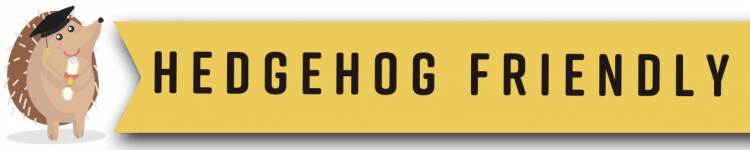 Brighton Hedgehog Friendly Campus