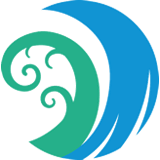 graphic foe seaford environmental alliance shows blue and green waves