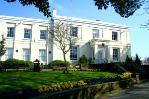 Littlehampton Museum in Spring
