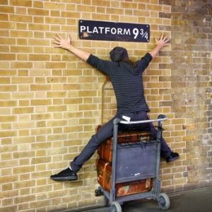 Harry Potter, platform 9 3/4