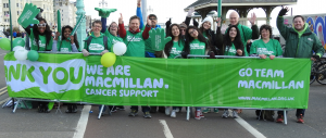 photo of Macmillan volunteers