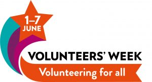 photo of volunteers week logo