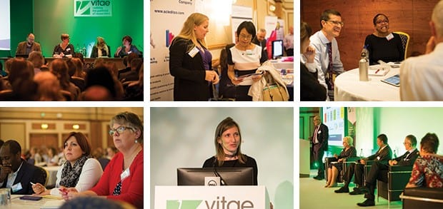 Gallery of activities at a previous Vitae conference.