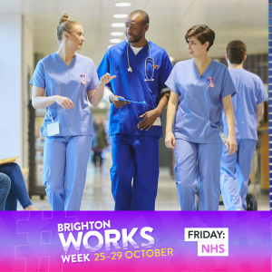 Brighton Works Week 2021: Work opportunities with the NHS