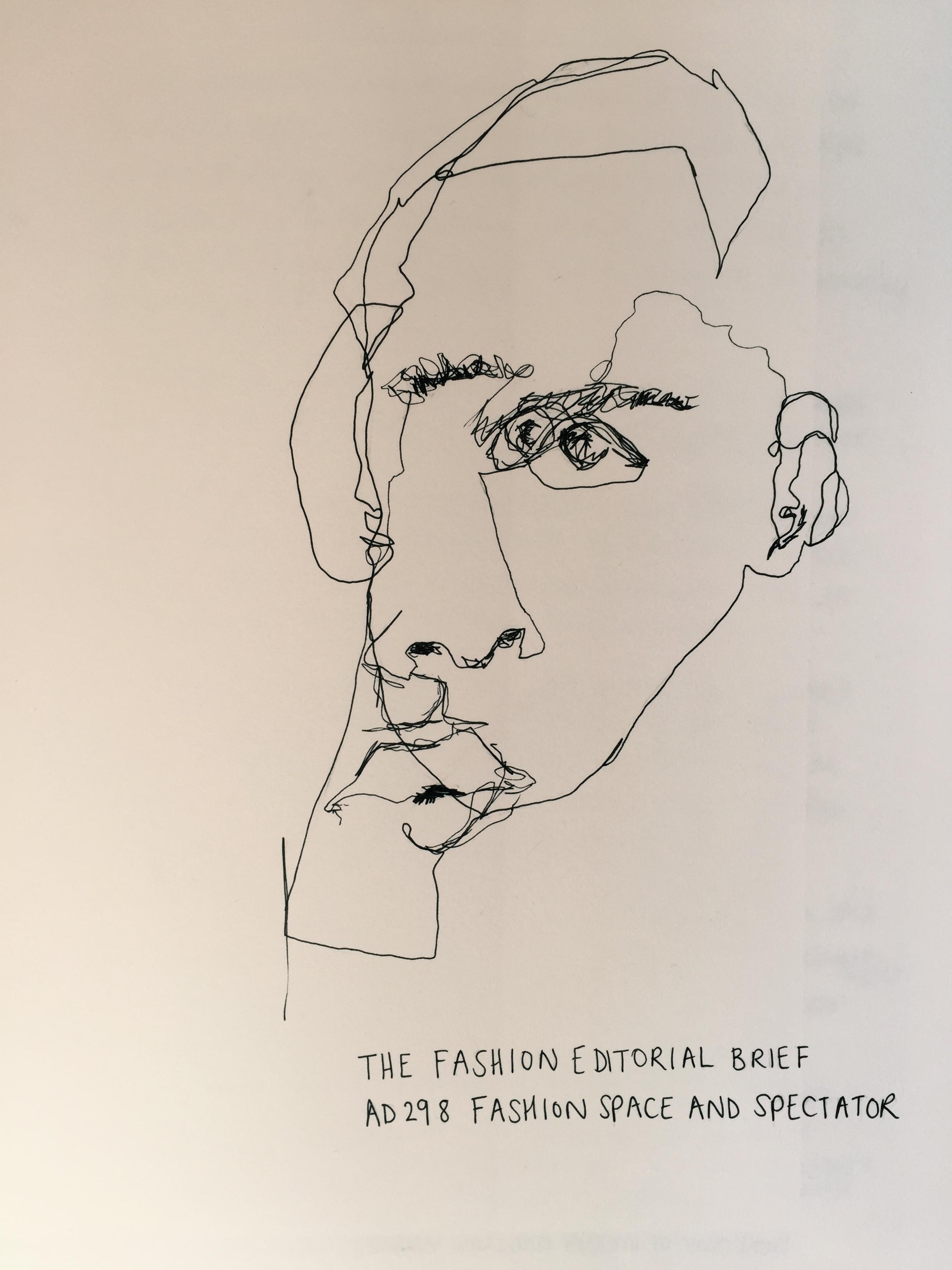 continuous line drawing georgieartblog
