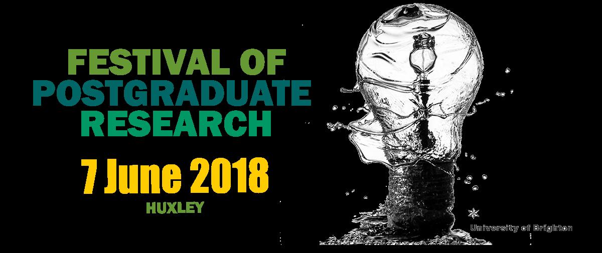 PGR festival banner 7 June Huxley