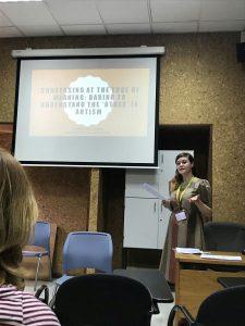 Gemma presenting