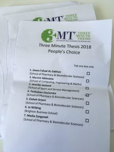 3MT ballot papers