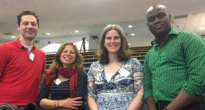 Opposites Attract participants: Robin Talbot, Sandra Young, Heather Baid, Akinyo Ola