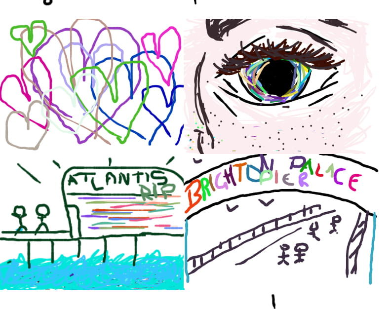 images from the daily digital doodle