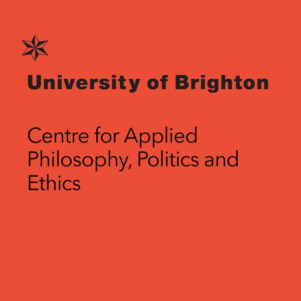 Logo for the University of Brighton Centre for Applied Philosophy, Politics and Ethics