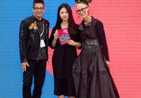 Feiyi Huang wins Fashion Photography award at Graduate Fashion Week