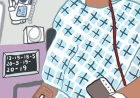 BA Hons Illustration Alumni Monique Jackson's illustrated COVID diary on Instagram featured on the BBC