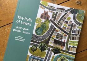 Fine Art Senior Lecturer Mick Hawksworth has book on Lewes published