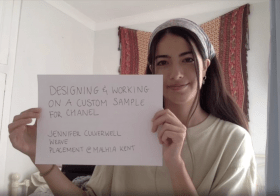 Fashion and Textiles students present their memorable placements