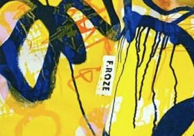 Textiles Alumni Freya Richmond – FESPA Printeriors Prize Winner – Launches her own brand F.ROZE
