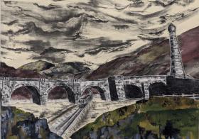 Fine Art Students Imogen Patel and Kahee Jeong win the Bridge Award