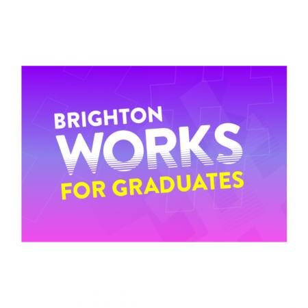 Brighton works for graduates graphic